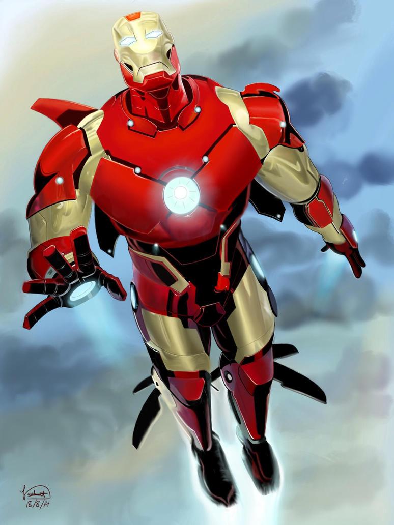 Iron man by thenash654