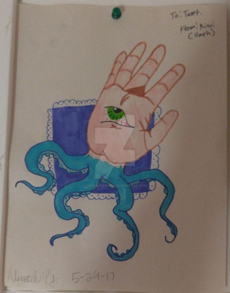 Tentacle Hand by Demi-Dreemurr