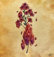 Crimson and Violet by Momopaw