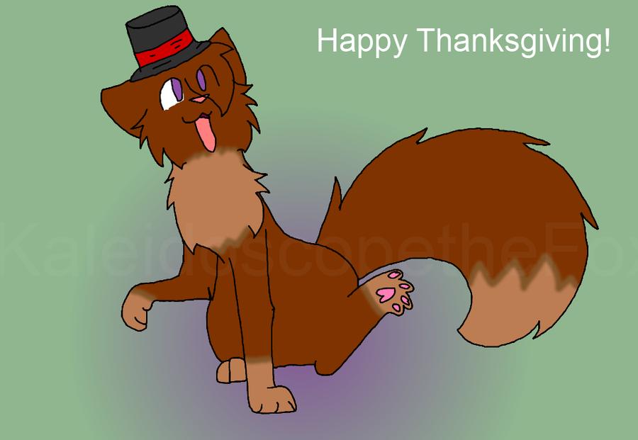Happy Thanksgiving by KaleidoscopetheFox