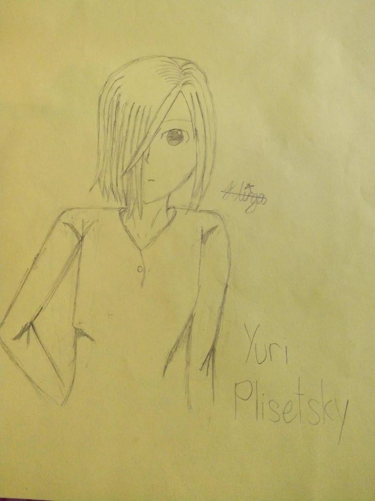 Yuri Plisetsky ((No Colors/Ink)) by ZraTales