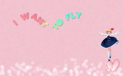 I want to fly by Dianiitakawaii