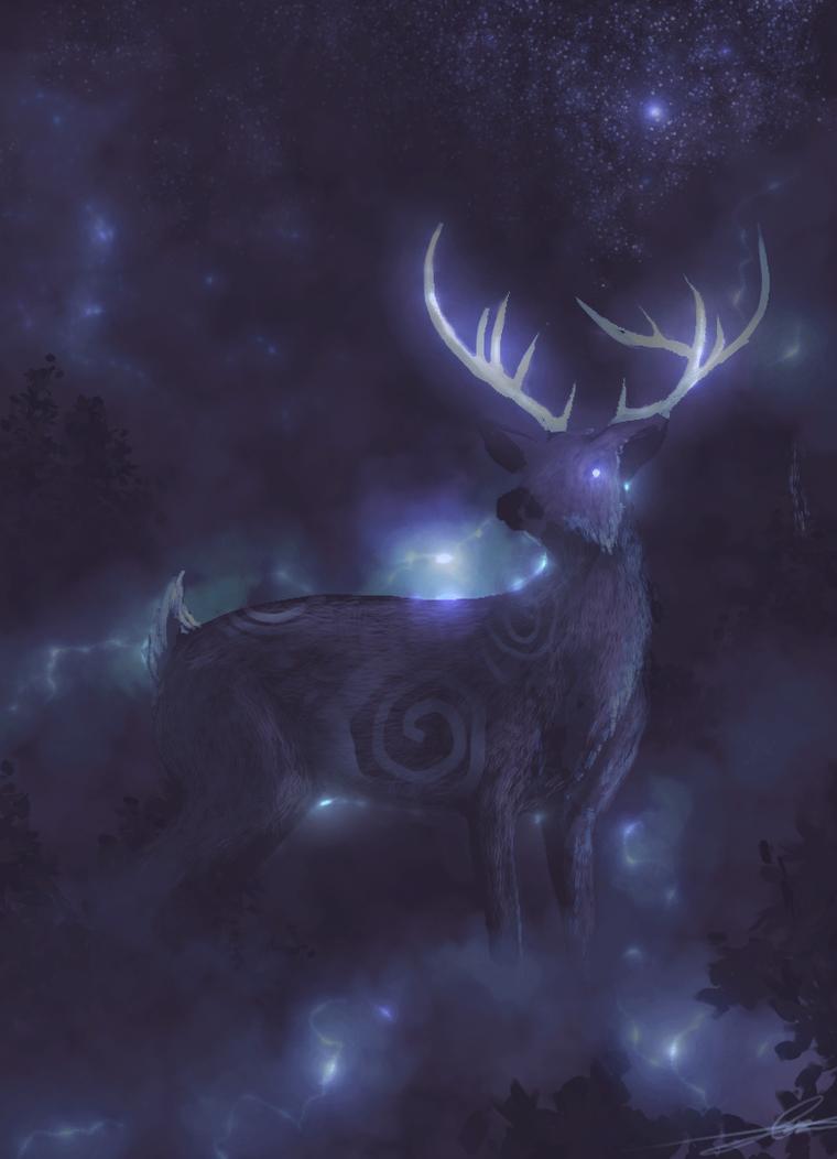 Does deviant art like deer? by Effett