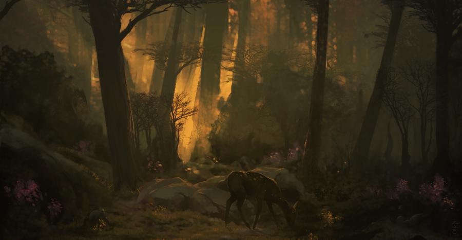 hi deer by Effett
