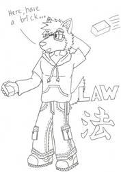 Law with Bricks by kurohacker