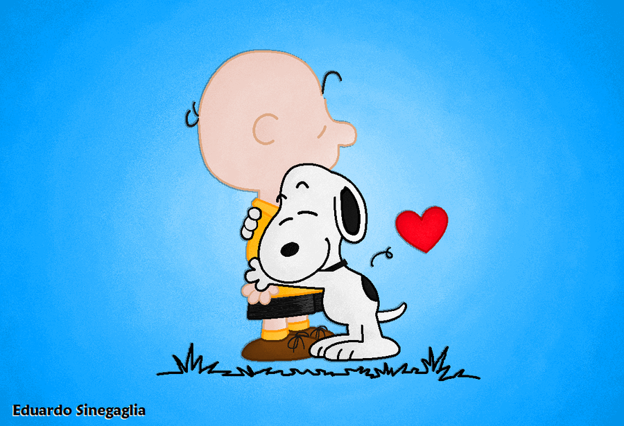 Snoopy and Charlie Brown by EduSinegaglia on DeviantArt