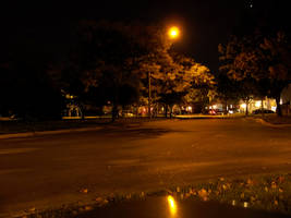 Street at Night by da-joint-stock