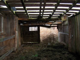 Roofless barn by da-joint-stock