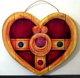 Cosmic Heart Locket