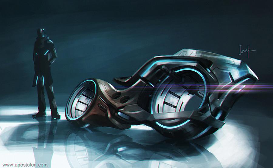 Motorcycle Concept by Apostolon-IAM