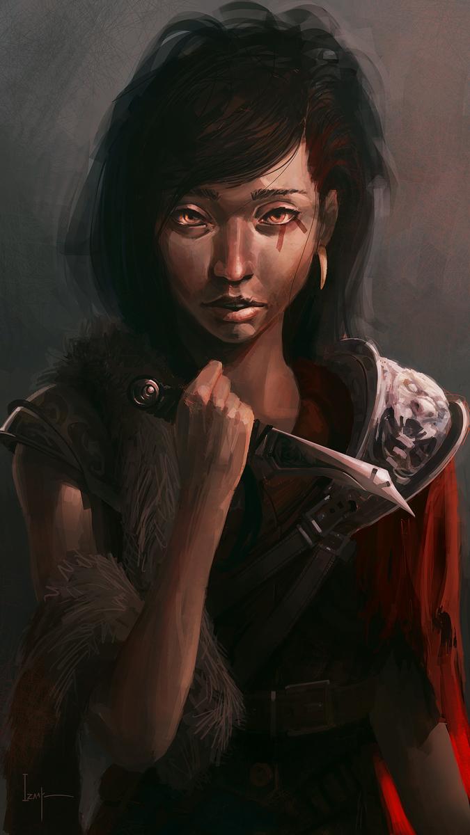 Barbarian Girl by Apostolon-IAM