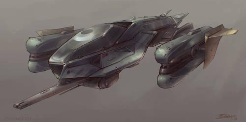 Fighter Concept by Apostolon-IAM