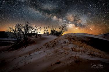 Milky Way Dunes by gmartin1215