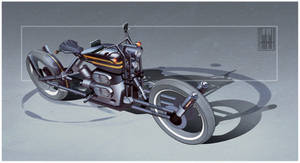 Neo Classic Motorcycle