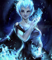 Hades Gender Bend by magato98
