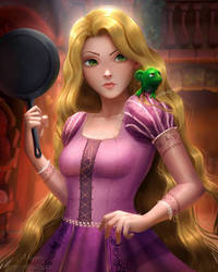 Rapunzel Tangled  by magato98