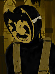 Sammy lawrence (Bendy and the ink machine) by Dino20Bryan