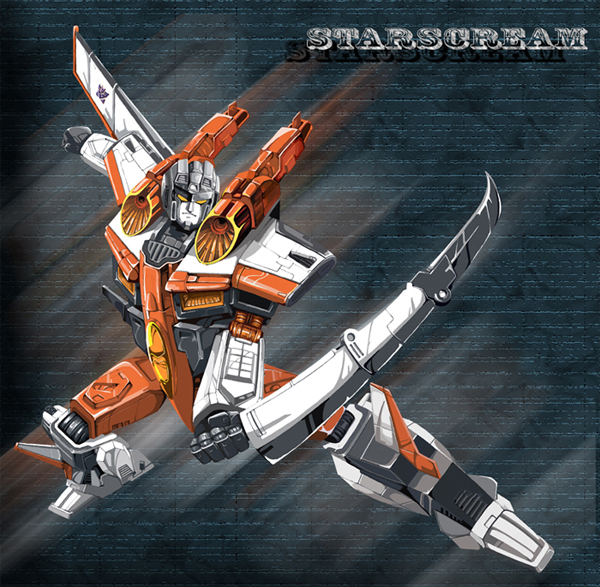 ARMADA STARSCREAM by hosanna9