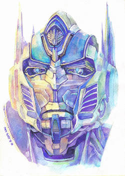 protrait_Optimus Prime
