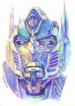 protrait_Optimus Prime