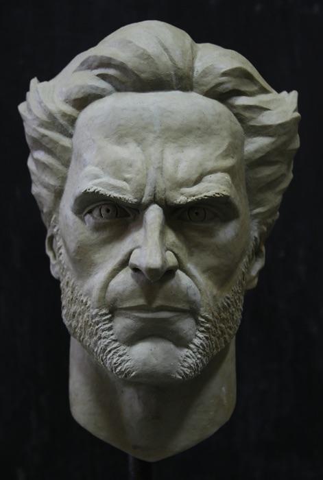 Head of Wolverine by hosanna9