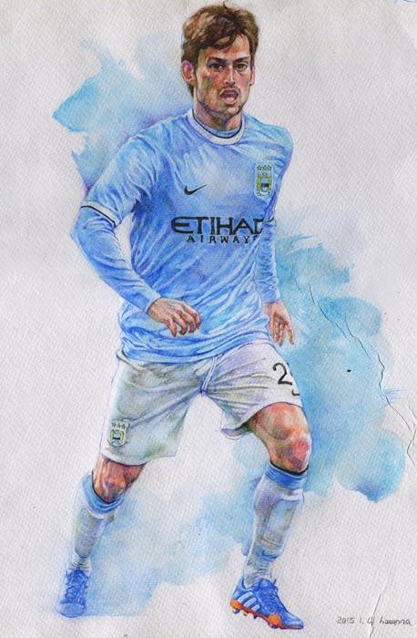 David Silva _Manchester City by hosanna9