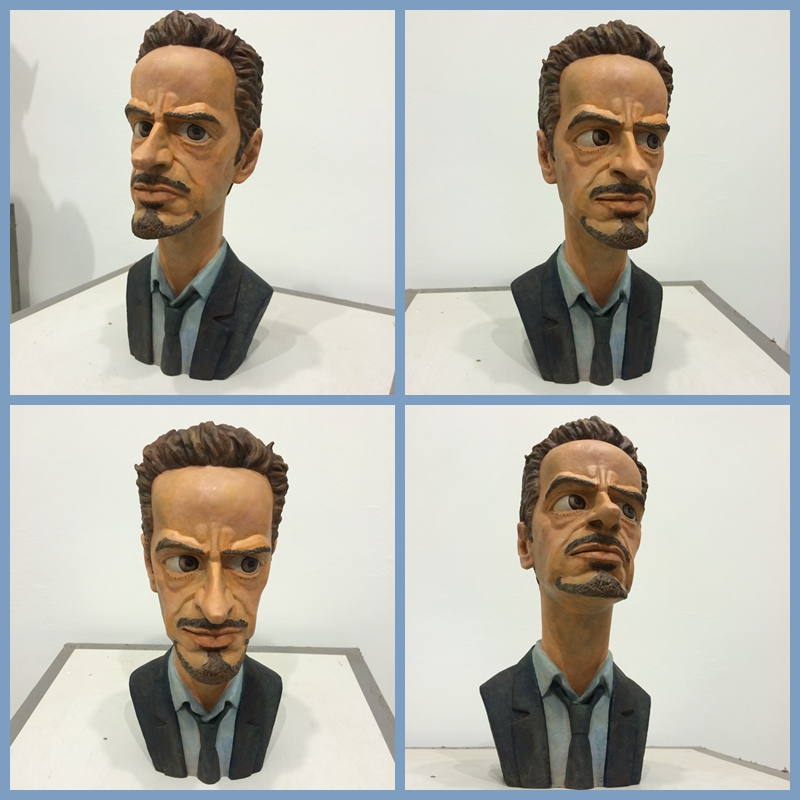 cartoon protrait of Robert Downey Jr 2 by hosanna9