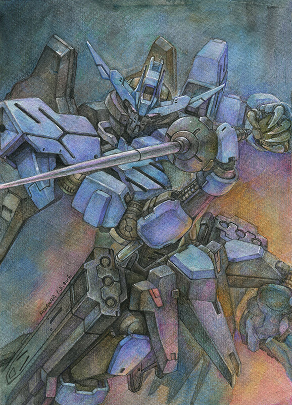 Gundam Vidar by hosanna9