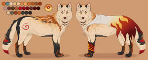 Wolf custom design para Shiki Arts 2