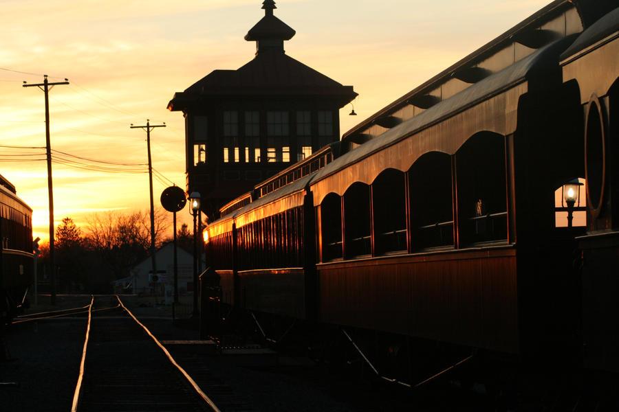 Strasburg Railroad by Givernyslily