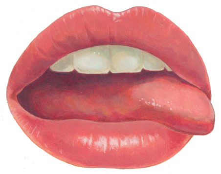 lips and tongue by jolauro on DeviantArt