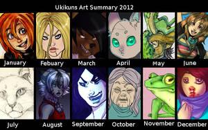 art summary 2012 by Ukikun