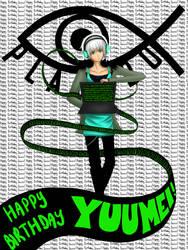Happy Birthday Yuumei! by Brokyen