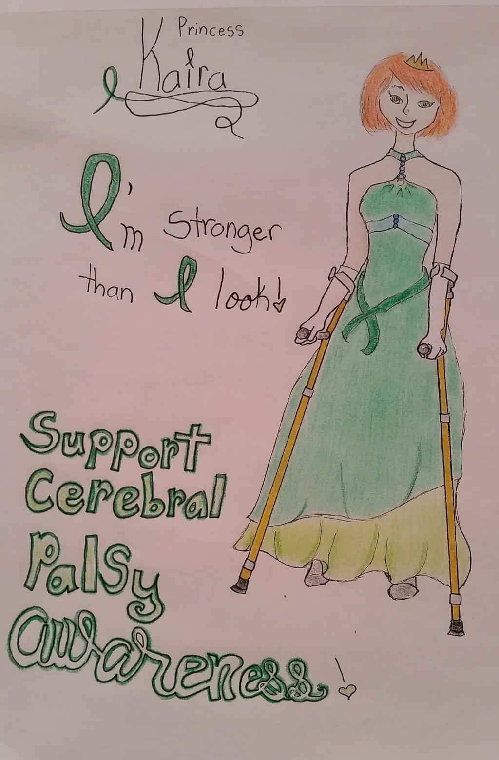 Cerebral Palsy Awareness Day 2015 by MermaidKisa on DeviantArt