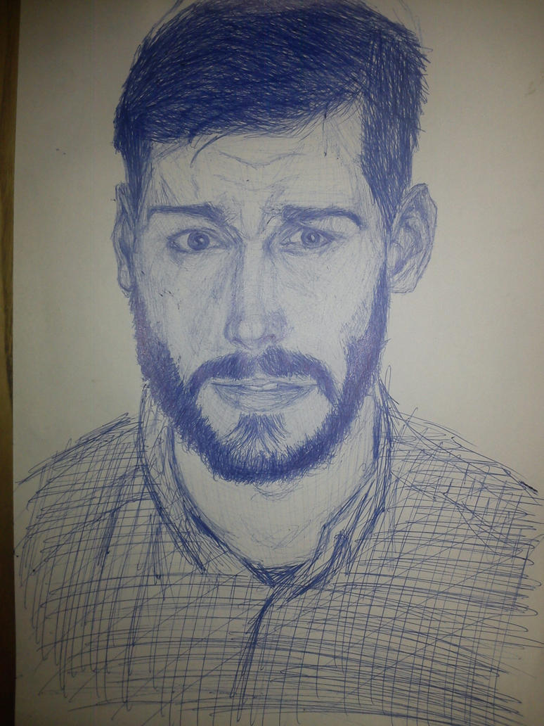 pen random portrait-read description(if you want) by LemonJumJum