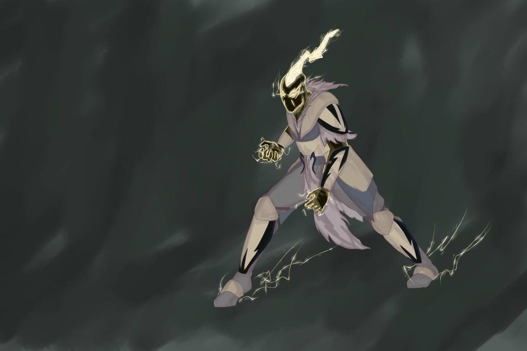 lightning ninja by LemonJumJum