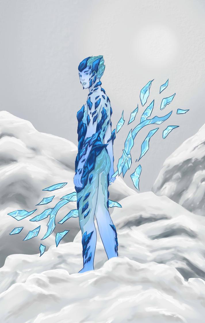 Iceborn Ashe by LemonJumJum