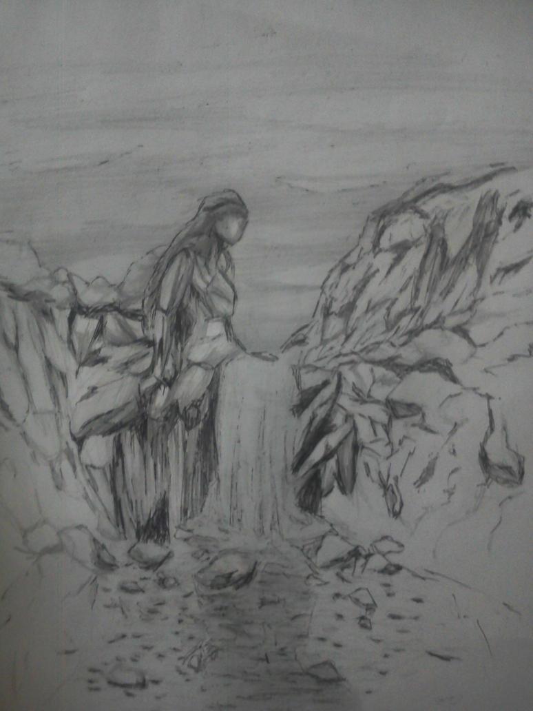 waterfall by LemonJumJum