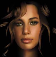 Leona Lewis by Itai Lustgarten by itailu