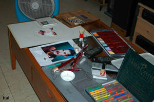 a painting in proses