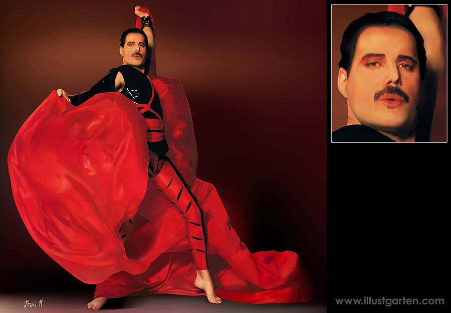 Freddie Mercury by Itai ML