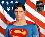 Christopher Reeve Superman by Itai Lustgarten