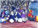 Robot Masters Chillin'