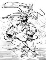 Musashi Commission by XCBDH