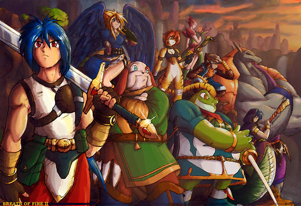 Breath of Fire 2 Poster
