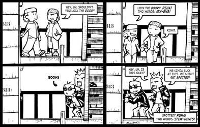 SCN Comic