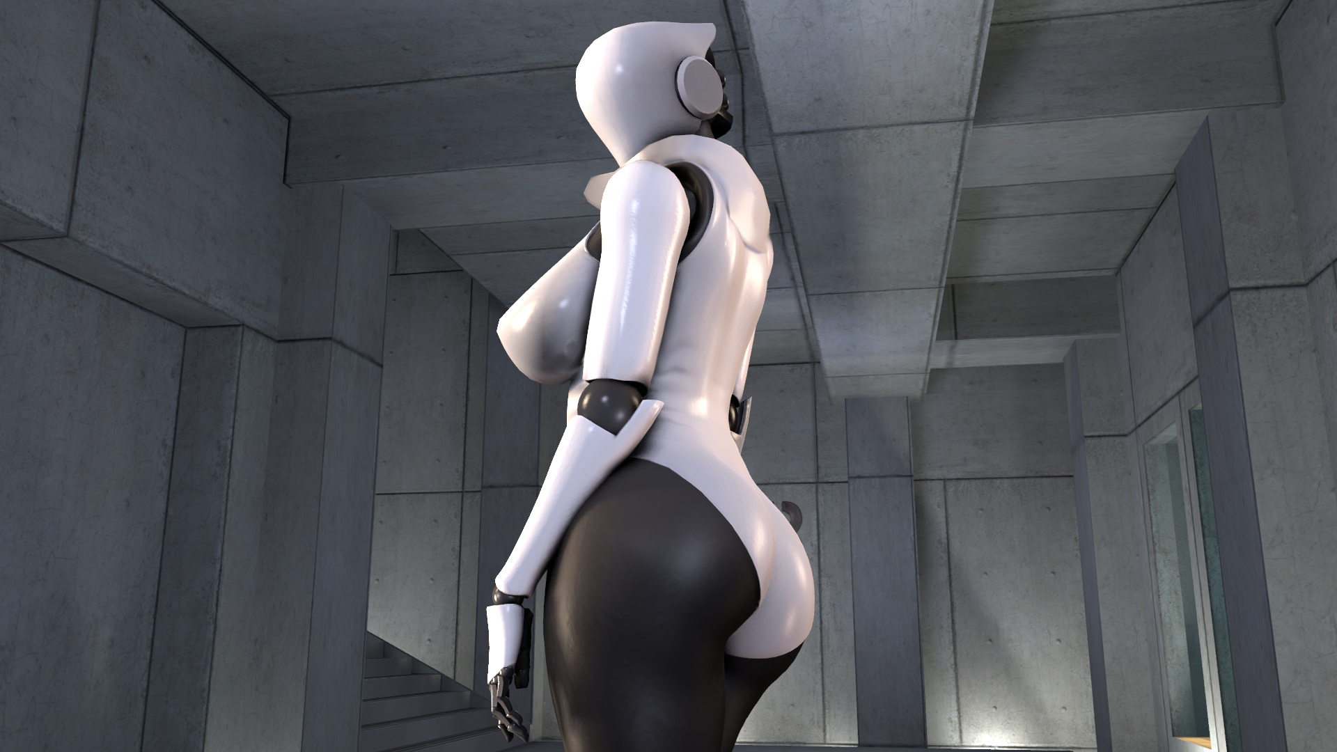 very skinny girl naked with nice ass