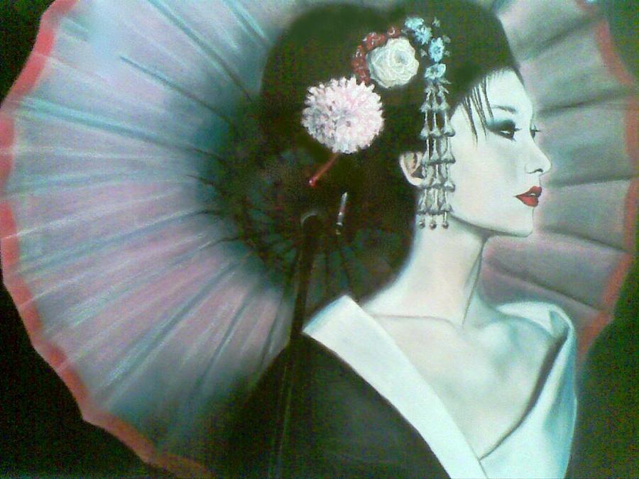 Geisha. by ericadalmaso
