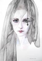 Black veil by ericadalmaso