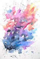 Cosmic explosion by ericadalmaso